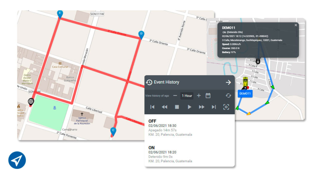 GPS for delivery
